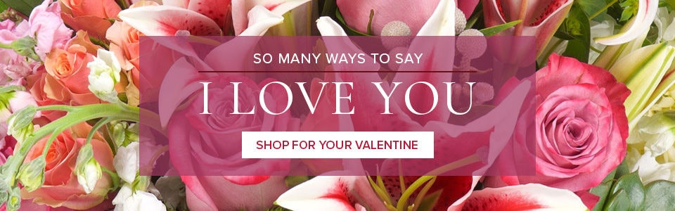 Valentine's Day Roses Flowers & Gifts delivered by Ron & Alicia Robinson Florist