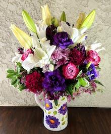 Garden Pitcher Bouquet