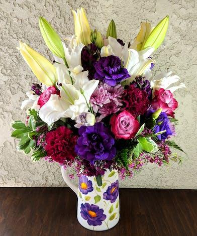 Garden Pitcher Bouquet in Rowland Heights, CA
