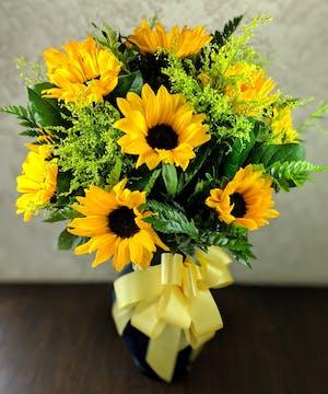 Sunny Sunflower Bouquet in Whittier, CA