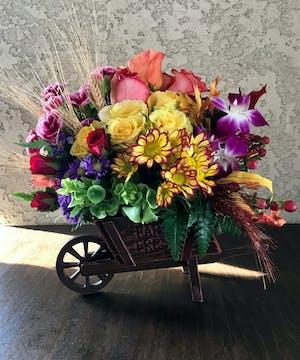 Antique Autumn Bouquet