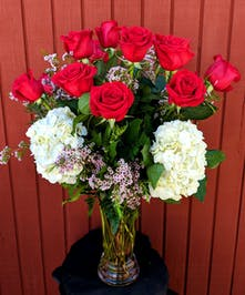 Roses & Hydrangea Bouquet in Rowland Heights, CA
