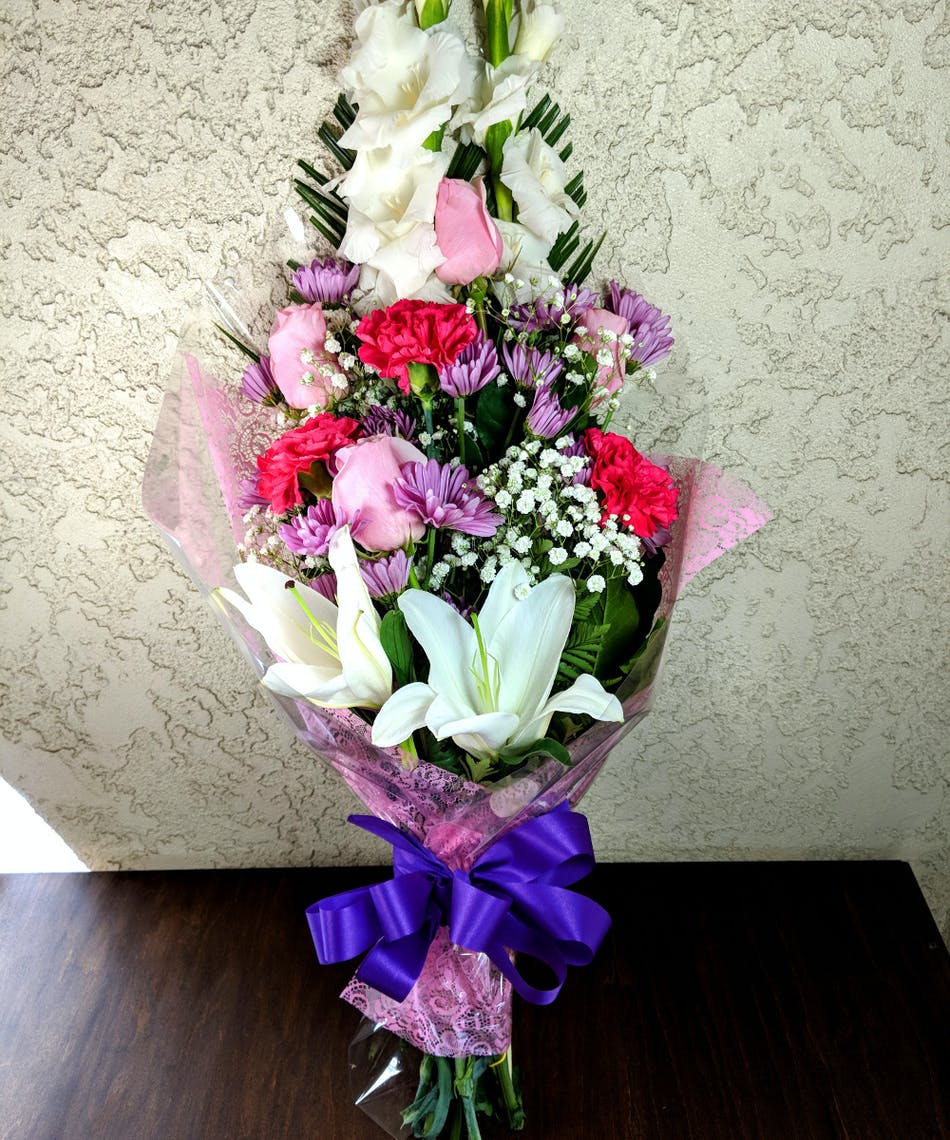 Feminine Graduation Bouquet In Rowland Heights Ca