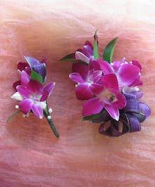 Dendrobium Orchid Corsage & Boutonniere in Rowland Heights, Whittier, Glendora, CA