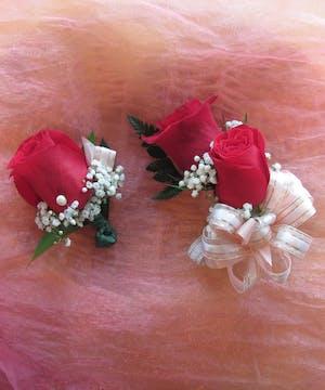 Rose Corsage & Boutonniere in Rowland Heights, Whittier, Glendora, CA