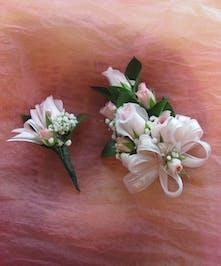 Spray Rose Corsage & Boutonniere in Rowland Heights, Whittier, Glendora, CA