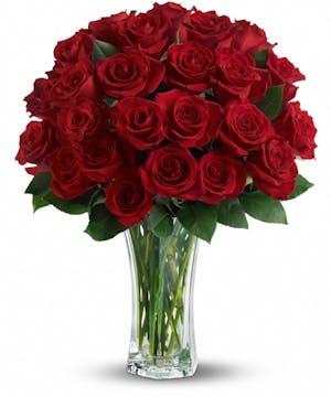 Love & Devotion Long Stem Red Roses in Rowland Heights, Whittier, Glendora, CA
