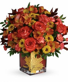 Roses & Maples Bouquet