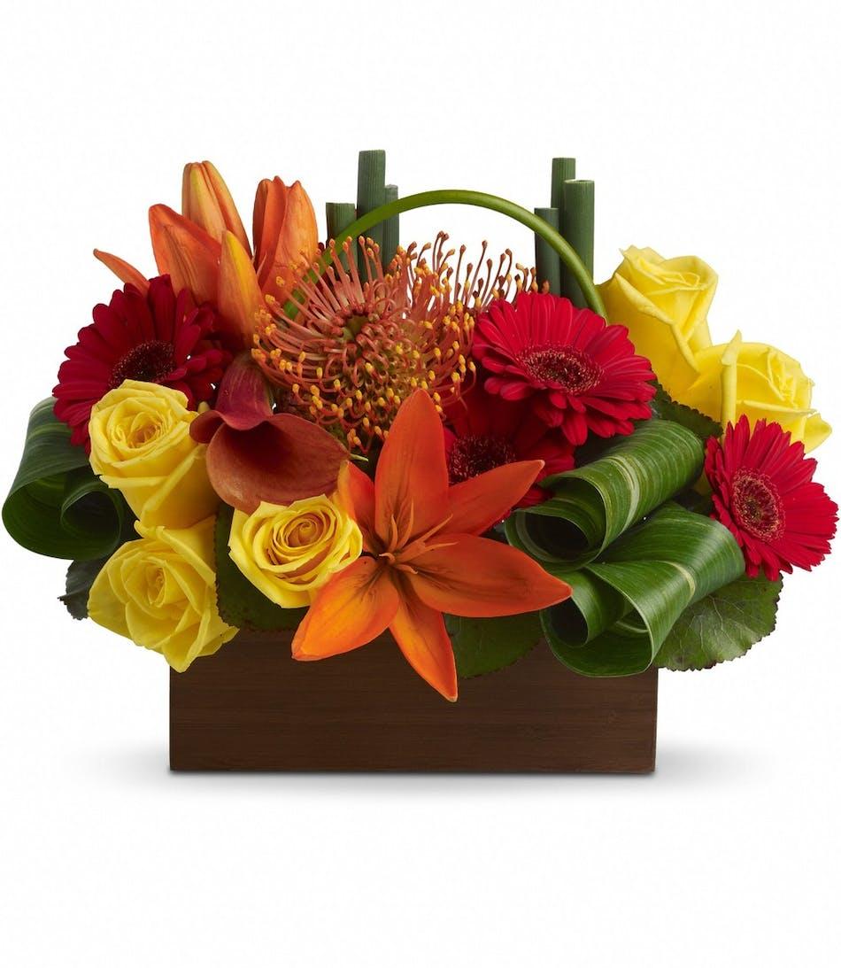 Bamboo Getaway Bouquet In Rowland Heights Whittier Glendora Ca