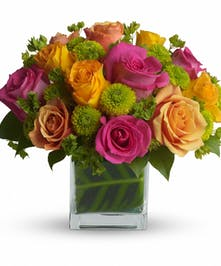 Color Me Rosy Bouquet in Rowland Heights, Whittier, Glendora, CA