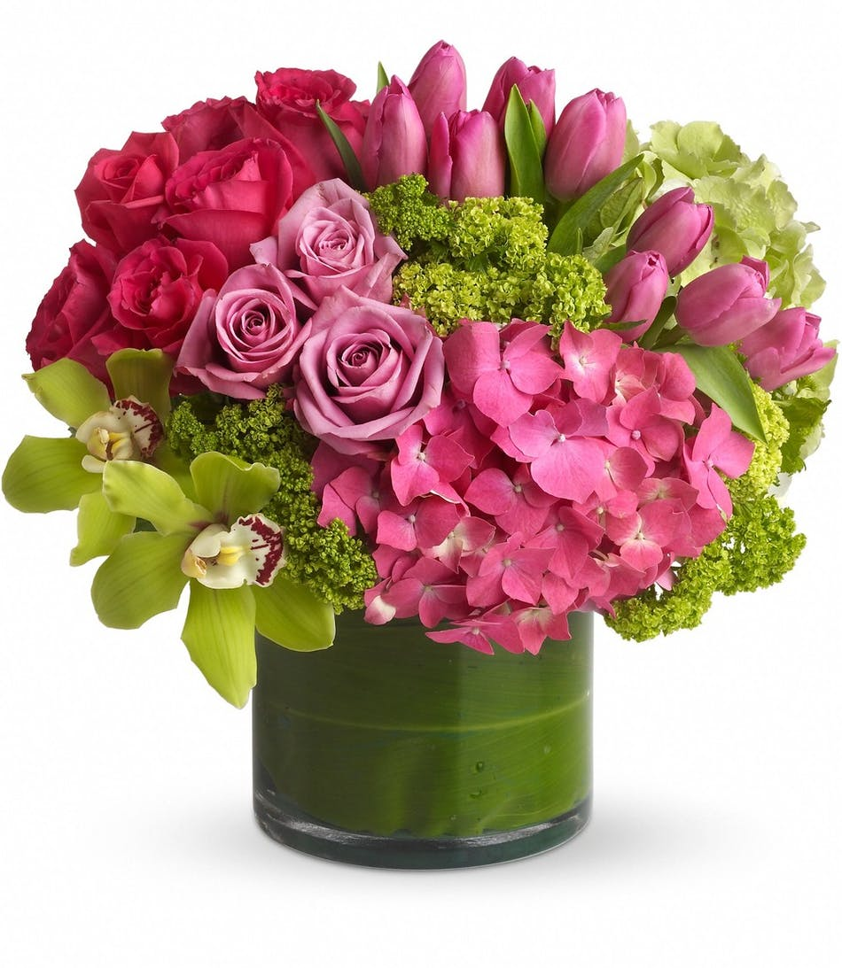 New Sensations Modern Flower Arrangement Same Day Delivery
