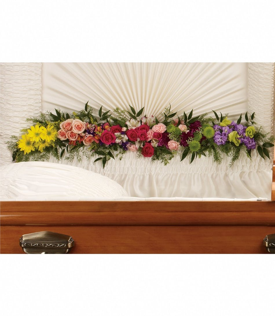 Glorious memories funeral flower garland same day delivery izmirmasajfo