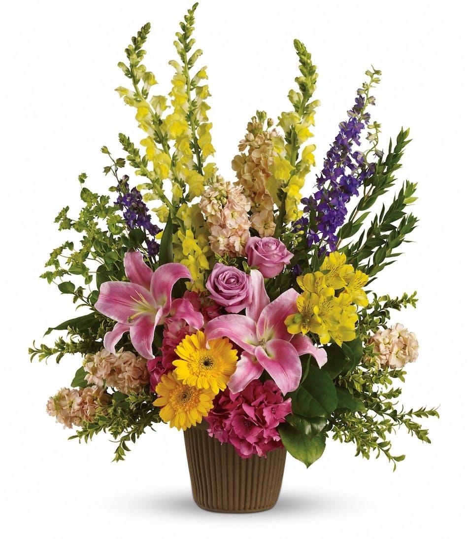 Glorious grace funeral bouquet izmirmasajfo
