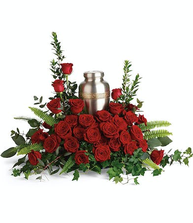 Red Rose Cremation Flowers in Rowland Heights, CA