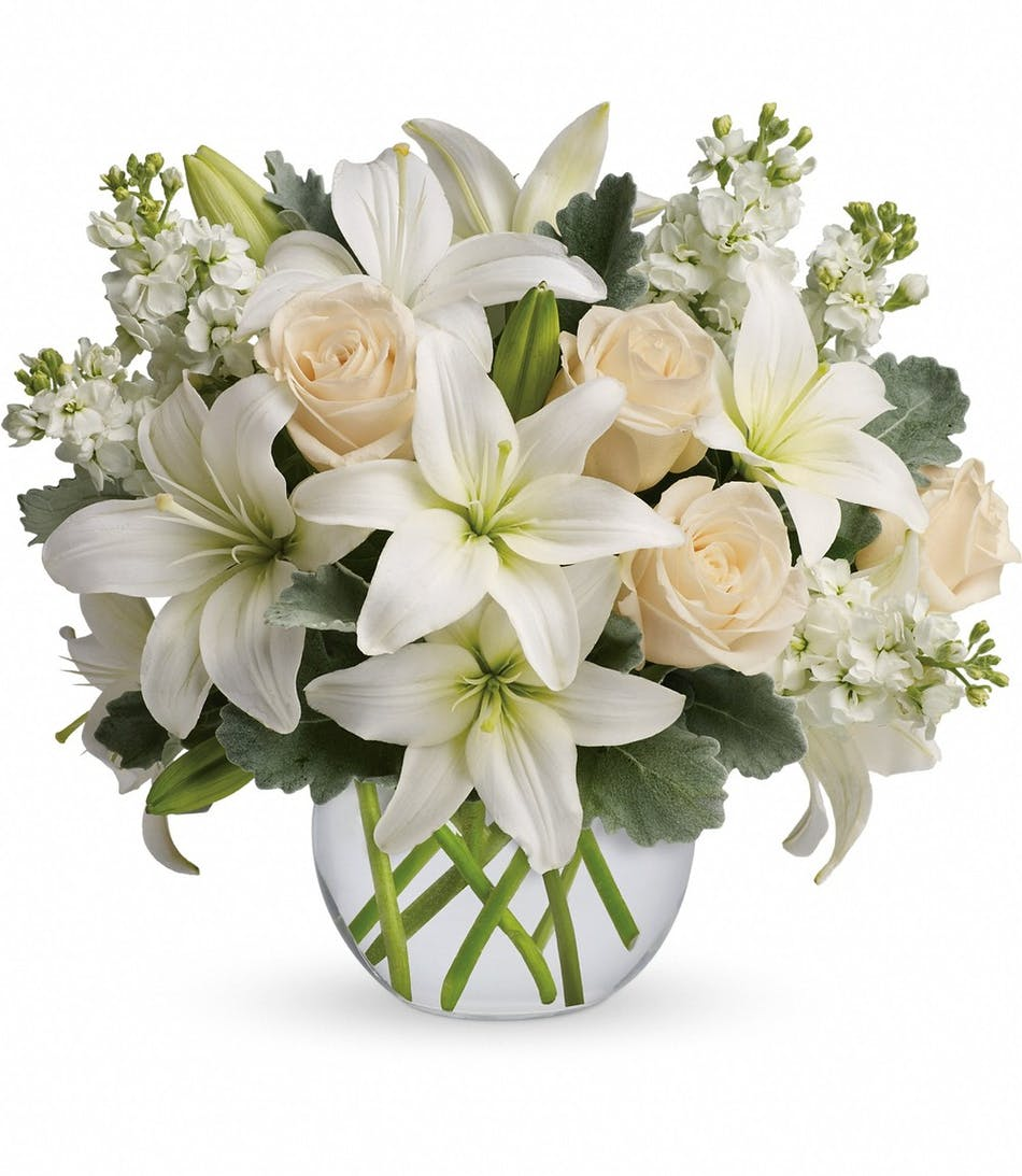Rowland Heights Flower Delivery Isle Of White Bouquet Ra Florist
