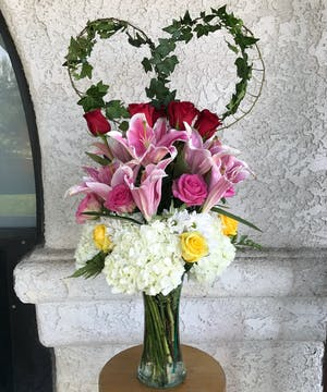 Endless Romance Bouquet delivered in Whittier, CA