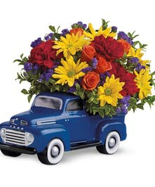 '48 Ford Truck Floral Arrangement in Rowland Heights, Whittier, Glendora, CA