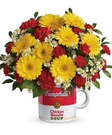 Campbell's Healthy Wishes Bouquet in Rowland Heights, CA