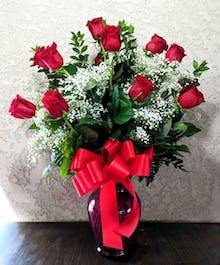 Platinum Red Roses