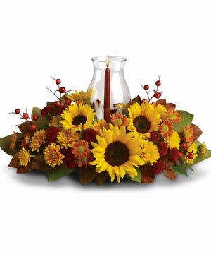 Sunflower Centerpiece in Rowland Heights, CA