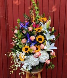 Blissfully Vibrant Bouquet