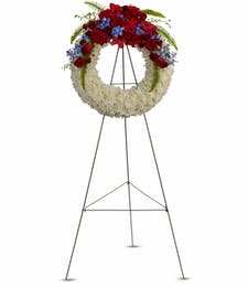 Reflections of Glory Funeral Wreath