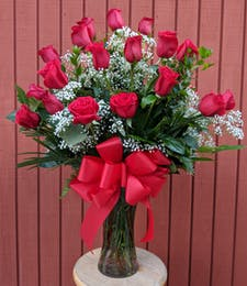 Platinum Red Roses